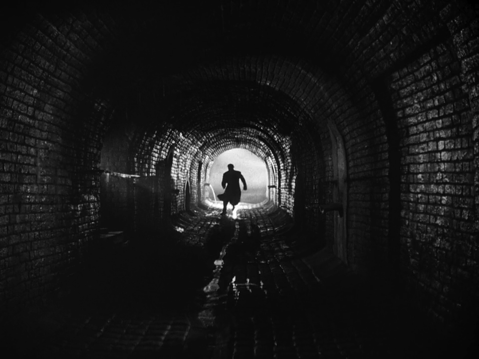 Beauiful frame from the third man