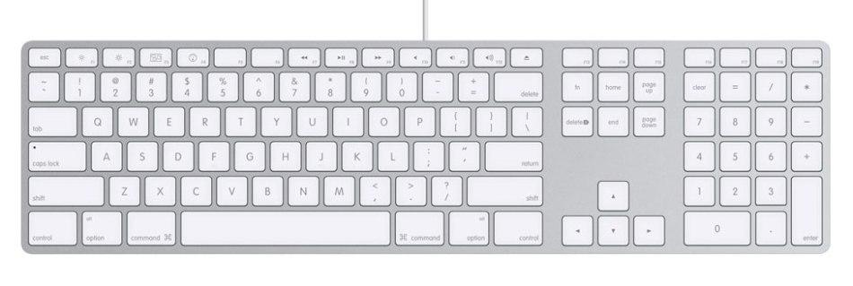 Apple Aluminum Keyboard